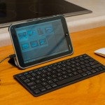 Toshiba Encore 8 with stand, Amazon bluetooth keyboard and an Apple MagicMouse