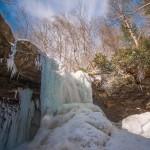 Cucumber Falls partially frozen