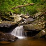 The stream that feeds the tallest waterfall